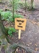Bridge of Doom sign