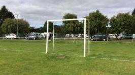 Shinty goal