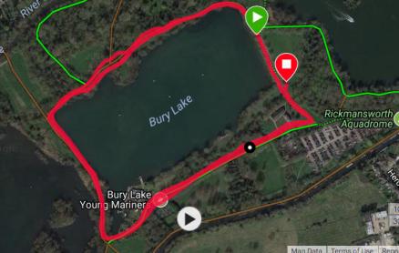 Bury lake alternative course