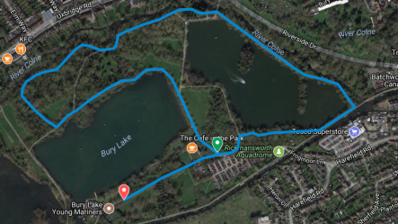 Normal Rickmansworth course