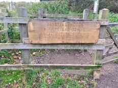 Banstead Woods Nature reserve sign