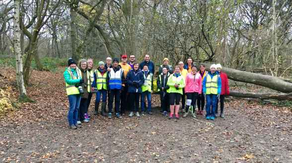 Banstead Woods Volunteer shot