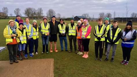 Oxford volunteers group shot