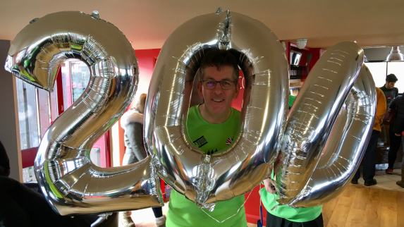 Stephan Scott 200th parkrun