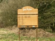 Henley woodland sign