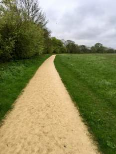 Route GD gravel path