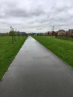 Route GD tarmac path