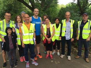 Group volunteers Hackney