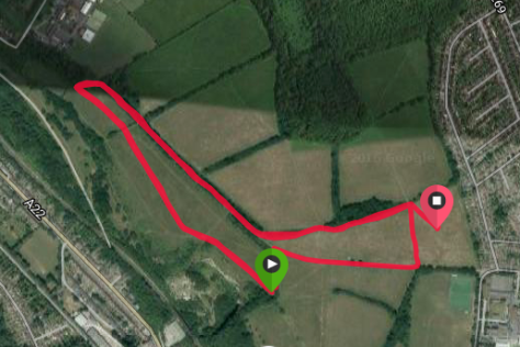 Riddlesdown Course Map