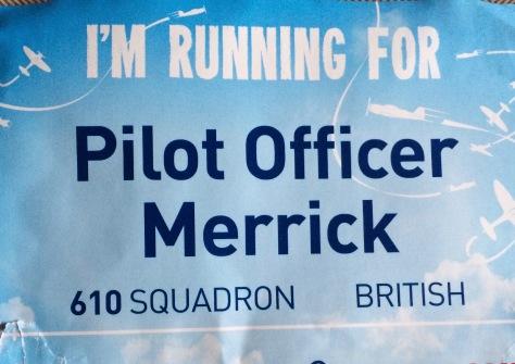 Spitfire honour card