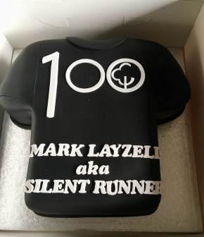 100th Celebration Cake