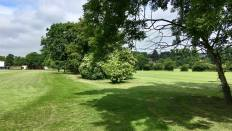 Castle Park course grass 1