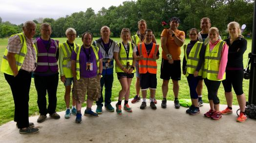 Castle Park volunteers