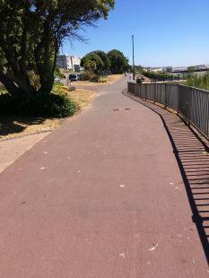 Clacton top promenade