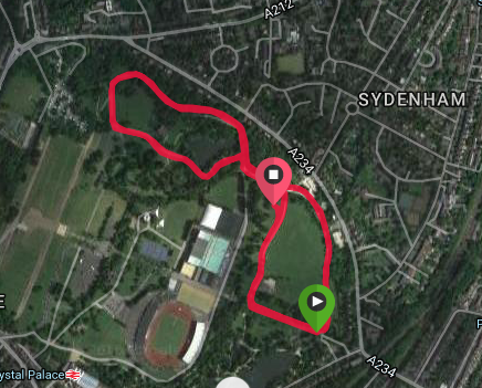 Crystal palace course