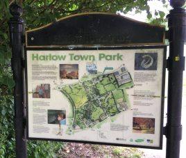 Park info sign