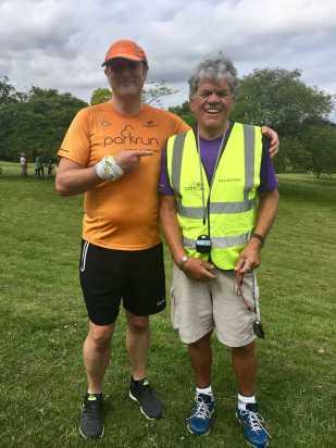 Harlow super volunteer John Gillespie