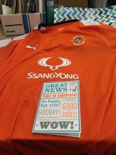 Luton Town 100th top Front