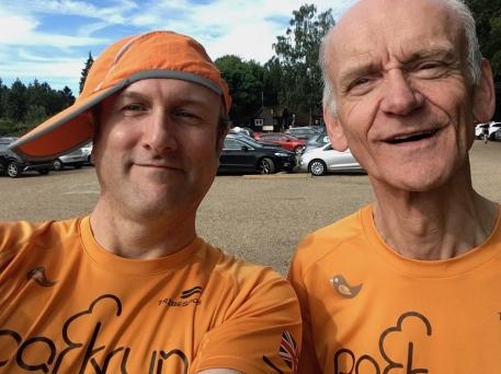 Me with Martin Jones