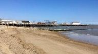 Pier landspcape view