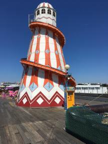 Tower slide