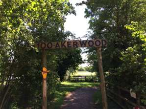 100 Aker-wood entrance