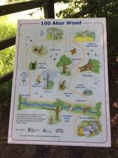 100 Aker-wood map