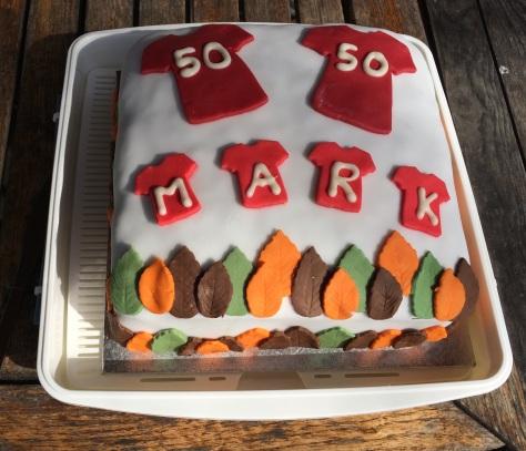 50th Milestone cake