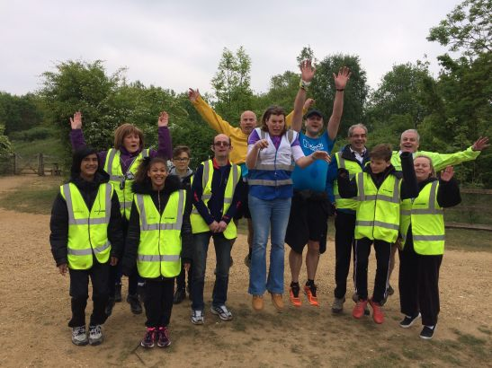 Bedfont lakes volunteer shot