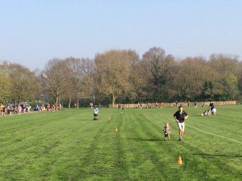 Bromley grass start