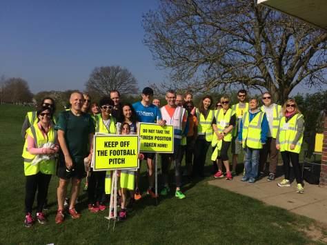 Bromley Volunteers group shot
