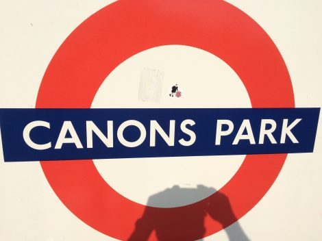 Canons park tube station