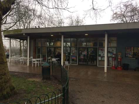 Finsbury park cafe