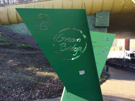 Green Bridge sign