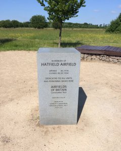 Hatfield Airfield memorial