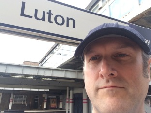 Luton Train station to Canons park
