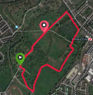 South Norwood Course map