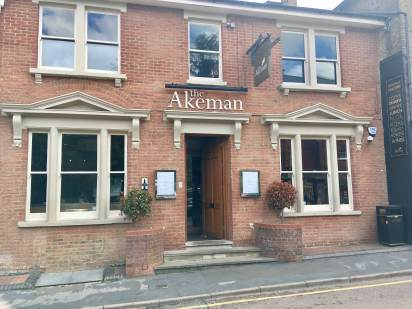 The Akeman restaurant