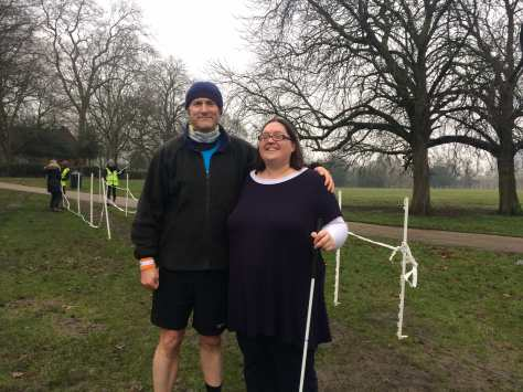 Top lady blind parkrunner