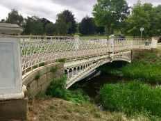 Bridge over river Gade