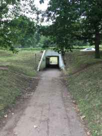 Gadebridge course underpass
