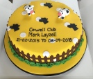 Cowell Club celebration cake