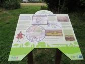 Houghton Hall info sign