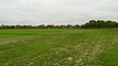 Hazelwood course grass outbound