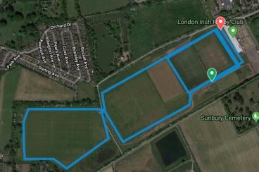 Hazelwood Course map