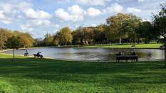 Clapham Common lake