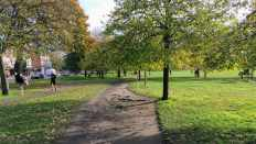 Clapham earth course path 2