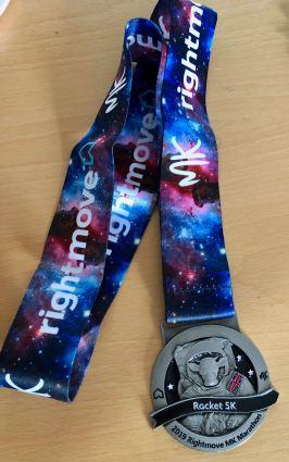 Rocket 5K 2019 medal