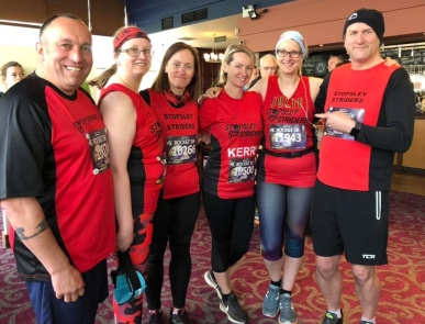 Striders group shot