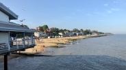 Felixstowe beach from pier
